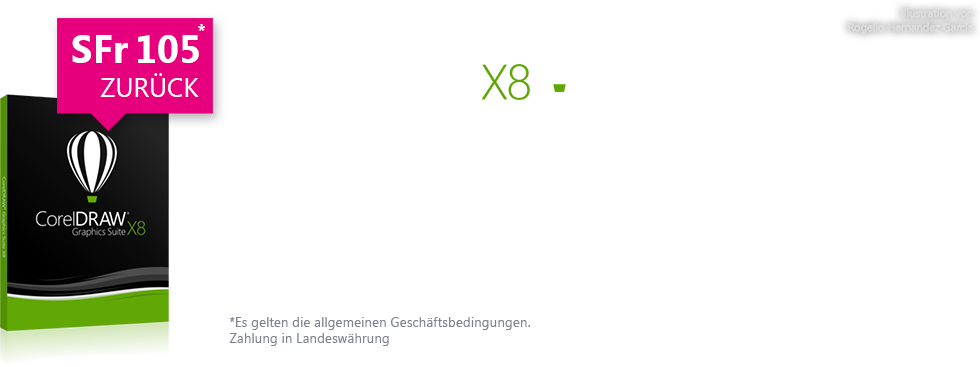 CorelDRAW Graphics Suite X8 Cashback offer 2016