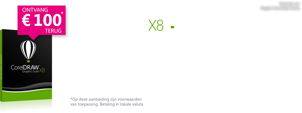 CorelDRAW Graphics Suite X8 Cashback offer 2016